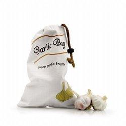 Cotton Garlic Bag - With Zipped Bottom