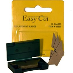 10 Count Standard Replacement Blades For Easy Cut Series (10 Blades In A Box)