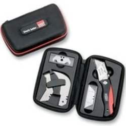 Bessey Pvc Handle With Blade Storage Compartment Folding Utility Knife