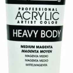 Liquitex Professional Heavy Body Acrylic Paint 2-Oz Tube, Medium Magenta
