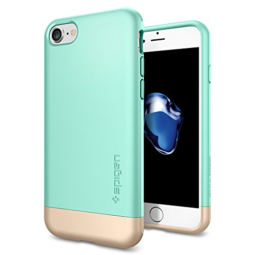 iPhone-7-Case-Spigen-Style-Armor-Protective-Mint-SOFT-Interior-Scratch-Protection-Metallic-Finished-Base-with-Dual-Layer-Protection-Slim-Trendy-Hard-Case-for-Apple-iPhone-7-2016-042CS20515