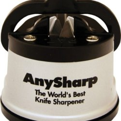 Anysharp Knife Sharpener, Silver
