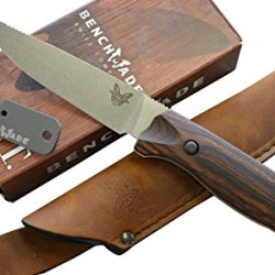 Benchmade Hunt 15007-2 Saddle Mountain Hunting Knife And Free Benchmade Sharpener