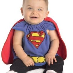 Superman Deluxe Bib Costume