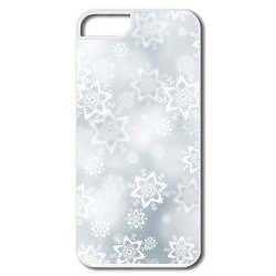 Snowflakes Texture Hard Fashion Case For Iphone 5/5S