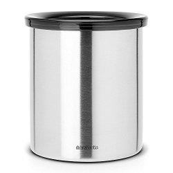 Brabantia Waste Bin For Tea Bags And Coffee Pods - Matt Steel
