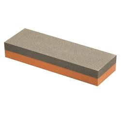 Norton 614636855653 Ib8 1-By-2-By-8-Inch Fine/Coarse India Combination Bench Stone