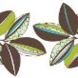 Brewster Wall Pops Wps99027 Peel & Stick Habitat Die-Cut Stripes, 10-Count