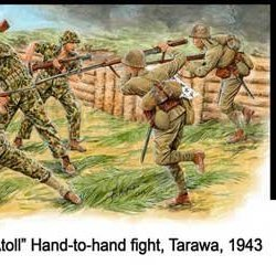 1/35 1943 Tarawa Meat Soldier War (Japan Import)