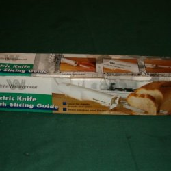 White-Westinghouse Electric Knife W/ Slicing Guide