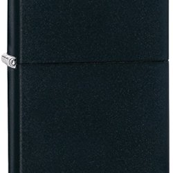 Zippo Regular Lighter, Black Matte, 1.5 X .5 X 2.25-Inch