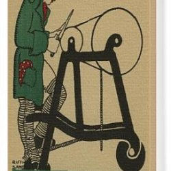 Canvas Print Of Ruth Sandys. Knives A Scissors