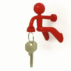 Magnetic Key Caddy--Keyholder (Red)