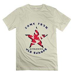 Man Old Europe 3 T Shirt - Vintage Custom Natural T Shirts