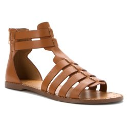 Kelsi Dagger Women'S Sarong Gladiator Sandal,Chutney/Tan,9 M Us