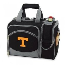 Tennessee Volunteers Malibu Insulated Picnic Shoulder Pack/Bag - Hunter Green W/Embroidery