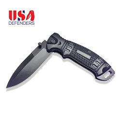 Best Folding Knife Spring Assisted Pocket Knife With Clip. Black Folding Knife For Hunting And Tactical. New Rescue Knife Survival Stainless Steel Blade Open Case Knives For Camping
