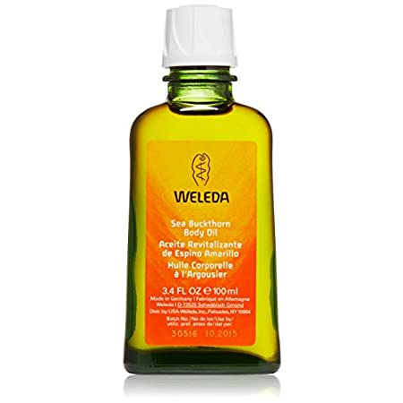 Weleda Sea Buckthorn Body Oil (99% organic) is a replenishing, full-body treatment packed with antioxidants and nutrients to restore skin to radiant health. Sea buckthorn berry and seed oil is packed with essential fatty acids that replenish vital mo...