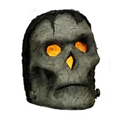 Primitives By Kathy Lighted Frank - Frankenstein Monster Head