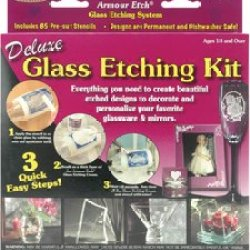 Armour Products Deluxe Glass Etching Kit 10-0101
