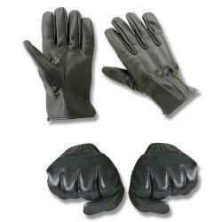 Sap Gloves With Steel Shot Knuckles - Extra Large