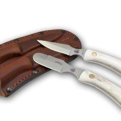 Knives Of Alaska Muskrat/Cub Bear Combo - Stag