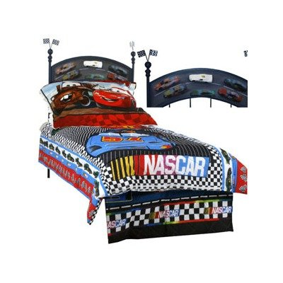 Image of Corsican Kids 42618 Nascar Twin Headboard Only (B004VQ9T7Y)