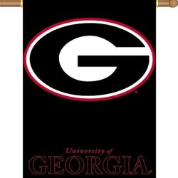 "96307 - Georgia Bulldogs 2-Sided 28"" X 40"" Banner W/ Pole Sleeve"