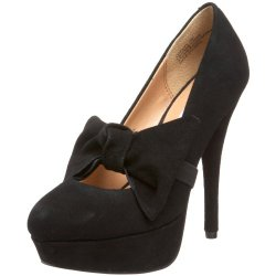 Kelsi Dagger Women'S Tiffany Pump,Black Suede,6.5 M Us