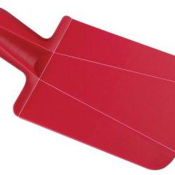Joseph Joseph Chop 2 Pot Folding Chopping Board, Mini, Red