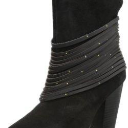 Kelsi Dagger Women'S Zena Bootie,Black,6.5 M Us