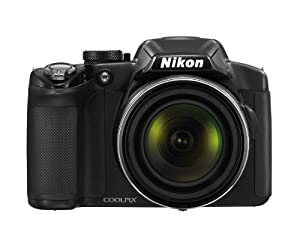 Nikon COOLPIX P510 16.1 MP CMOS Digital Camera with 42x Zoom NIKKOR ED Glass Lens and GPS Record Location (Black)