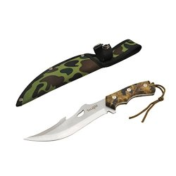 """10"""" Tactical Hunting Survival Knife Skinner Bowie Fixed Blade +Nylon Sheath Mh-H103 - Speicial Promotion - ²Hxp7Z"""