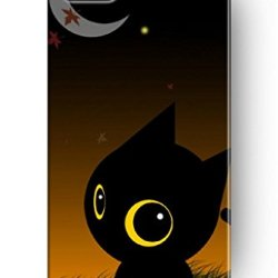 Sprawl New Beautiful Clear Vintage Design Personalized Hard Plastic Snap On Slim Fit Cute Black Cat Iphone 4 4S Case