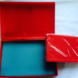 Best Match 2 Sizes Of Plastic Storage Boxes Red - Red, Empty Box For Diy Storage