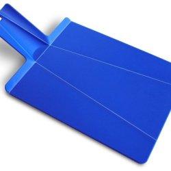 Joseph Joseph Chop 2 Pot Cutting Board, Royal Blue