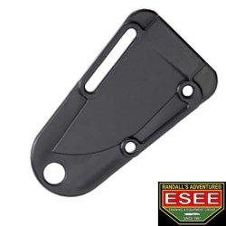 Esee Knives Is Black Injection Molded Izula Sheath With Lashing Hole