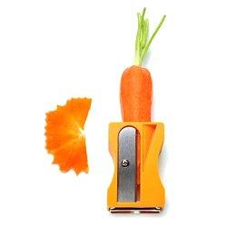 1Pcs Carrot Cucumber Sharpener Peeler Kitchen Tool Vegetable Fruit Curl Slicer