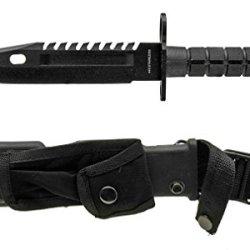 "13"" Tactical Survival Bayonet - Black"
