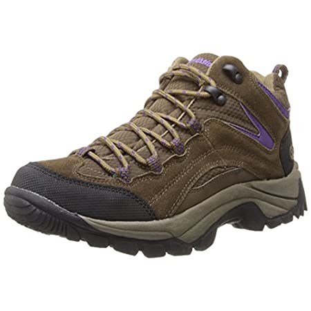 NORTHSIDE Women's Pioneer hiking boots feature a suede and mesh upper. A mid-cut cuff lends ankle stability. Speed Lacing System for secure fit and easy on-and-off. Contoured cushioned insole for comfort and support; Insole is breathable and washable...
