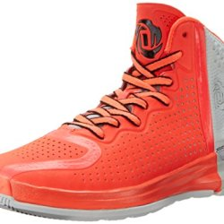 Adidas Performance Men'S D Rose 4 Basketball Shoe, Pop/Black/Grey, 8.5 M Us
