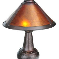 Meyda Tiffany 22619 Stained Glass / Tiffany Accent Table Lamp From The Dirk Van, Tiffany Glass