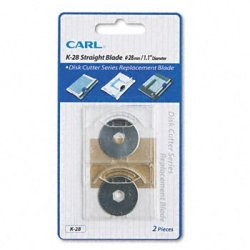 Carl K-28/2 Replacement Straight Blade For The Dc-210/220/238/2501