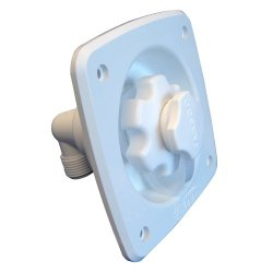 Jabsco Flush Mount White Water Pressure Regulator 45Psi Jabsco Flush Mount White Water Pressure Reg