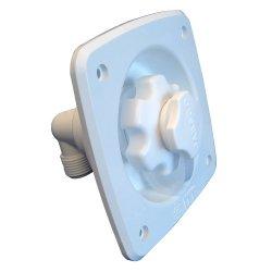 Jabsco Flush Mount White Water Pressure Regulator 45Psi Jabsco Flush Mount White Water Pressure Reg