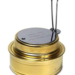 Esbit Brass Alcohol Burner Camping Stove With Variable Temperature Control