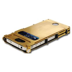 Stainless Steel Inoxcase For The Iphone 4- Gold Stainless Steel Inoxcase For The Iphone 4- Gold
