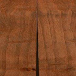 """Redwood Burl Swirly Stabilized (2 Pc) Mini Knife Scale 1/4""""X1 1/2""""X3"""" Sb1"""