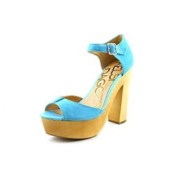Kelsi Dagger Women'S Wynette Sandal,Aqua,6 M Us