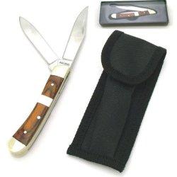 Hardwood / Pearl Handle Pocket Knife Kcd2005C - Pocket Knives